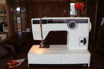 Mom's old Montgomery Ward Sewing Machine