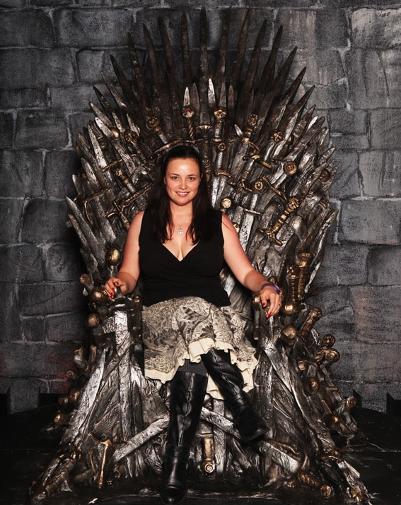 Me on the Iron Throne!