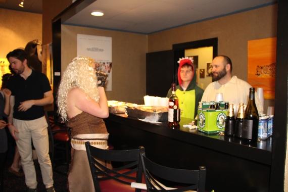 Bar at the Variety Screening Room