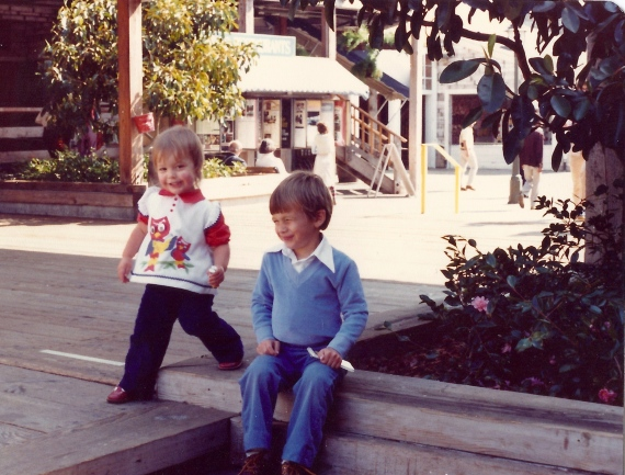 My 2nd Birthday @ Pier 39, Oct 1980